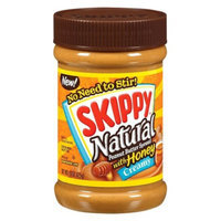 Skippy Natural Peanut Butter Spread with Honey