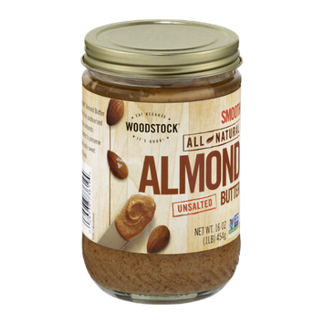 Woodstock Smooth All Natural Almond Butter Unsalted