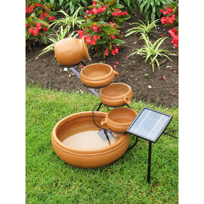 Koolscapes Solar Cascading Fountain - Koolatron