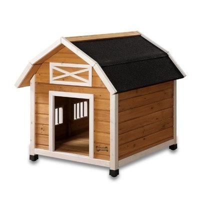 Pet Squeak The Barn Dog House, Medium