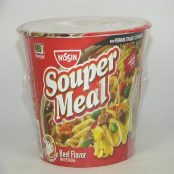 Souper Meal Souper Meal Noodles Cup Beef Flavor, 4.3 OZ (Pack of 6)