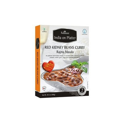 Kohinoor - India on Platter - Rajma Masala (Red Kidney Beans Curry) Ready-To-Eat 5 PACK