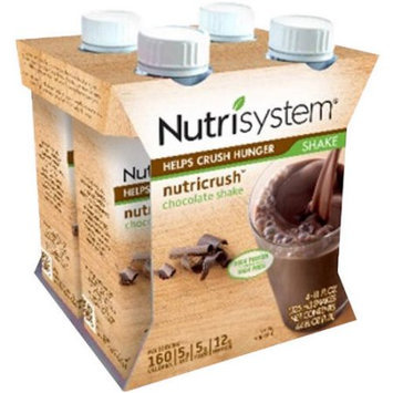 Nutrisystem Nutricrush Chocolate Shakes, 4 fl oz, 12 count
