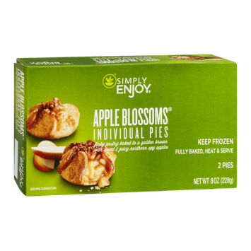 Ahold Simply Enjoy Pies Apple Blossoms - 2 CT