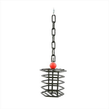 A & E Cage Co A & E Cage AE-HTFL White Large Hex Bird Toy Feeder