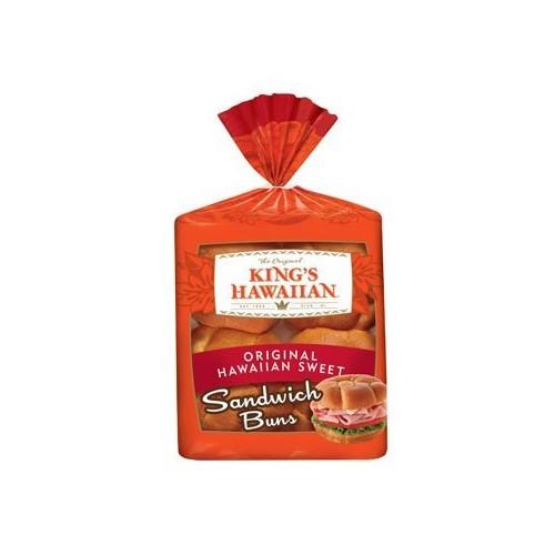 Kings KING'S HAWAIIAN SANDWICH BUNS SWEET BREAD