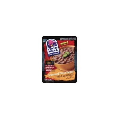 Taco Bell Home Originals Seasoned Pinto Beans, 8 Ounce