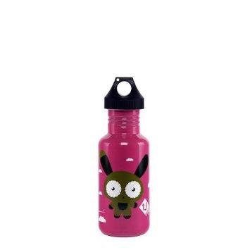U-turn 2 Tap Water Bottle,S/S,Bunny Fl 16 oz