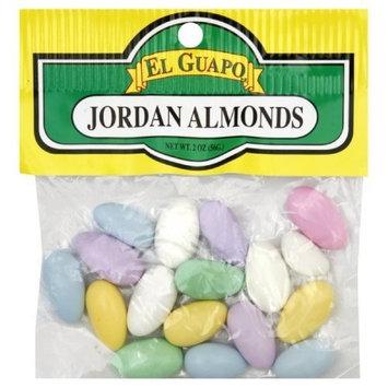 El Guapo Jordan Almonds, 2-Ounce (Pack of 12)