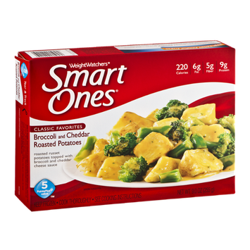 Weight Watchers Smart Ones Classic Favorites Broccoli and Cheddar Roasted Potatoes