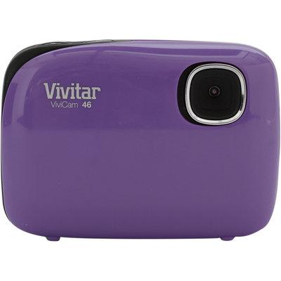 Sakar International Vivitar ViviCam 46 4.1MP Digital Camera Purple