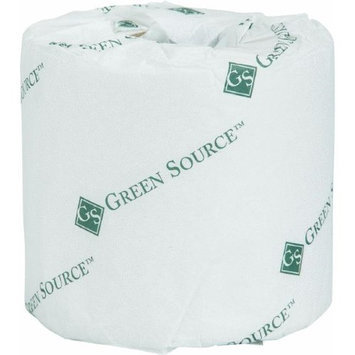 Atlas Paper Mills Green Heritage Toilet Tissue, Individually Wrapped, 2-Ply, 400/Roll. 96 Rolls