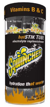 SQWINCHER 060300AC Sports Drink Mix, Powder, Apple Cider, PK10