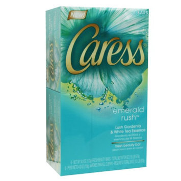 Caress Bar Soap, Emerald Rush, 6 ea