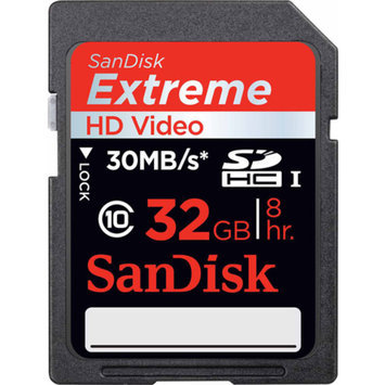 SanDisk Extreme - Flash memory card - 32 GB - UHS Class 1 / Class10 - SDHC UHS-I