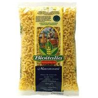 Bioitalia Macaroni Pasta, 17.6000-Ounce (Pack of 24)