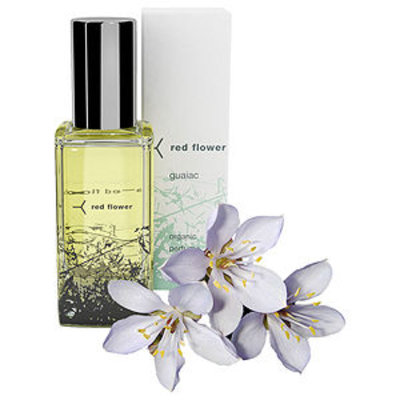 red flower organic perfume oil roll-on