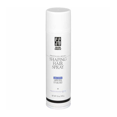 Salon Grafix Professional Shaping Unscented Super Hold Stying Mist Hold 8 Hair Spray