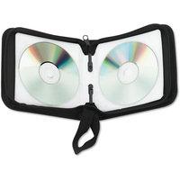 INNOVERA Innovera CD/DVD Wallet Holds, Nylon, Black