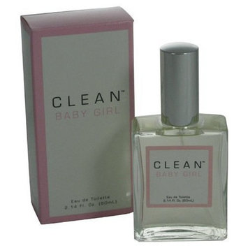Clean Baby Girl By Dlish For Women. Eau De Toilette Spray 2.14 Oz.
