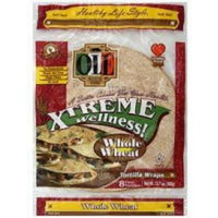 OLE Mexican Foods Xtreme Wellness! 8 Inch Whole Wheat Tortillas, 8ct