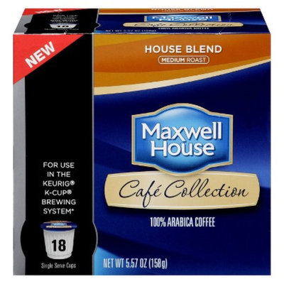 Maxwell House Cafe Collection House Blend Single Cups