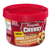 Campbell's Chunky Soup Jammin' Jerk Chicken with Rice & Beans