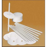 Will & Baumer 106719 Candle Congregation With Drip Protect 0.25 x 8.5