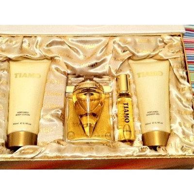Tiamo By Parfum Blaze for Women 4pcs Gift Set 3.4oz Edp+5.1oz Body Lotion+5.1oz Shower Gel + 0.80z EDP