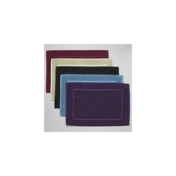 New Bloom N. B Rcyl Bath Mat Sage 1 Count -Pack of 4