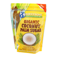 Wholesome Sweeteners Coconut Palm Sugar Organic