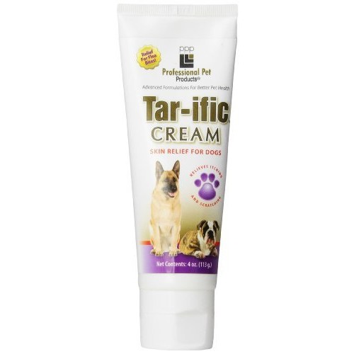 Tar ific PPP Pet Tar-ific Skin Relief Cream, 4-Ounce