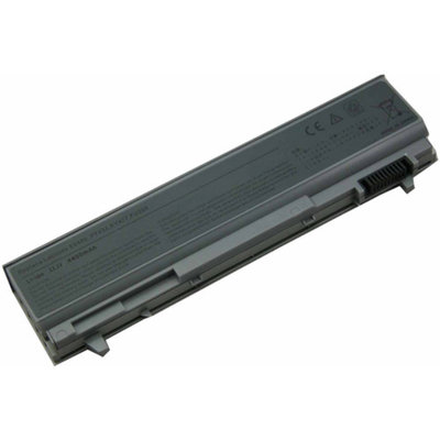 eN-Charge Replacement Dell Laptop Battery for Latitude and Precision Laptops, Black