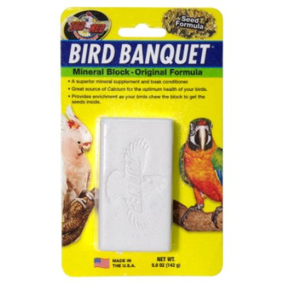 Zoo Med Labs Inc. Zoo Med-Aquatrol ZM11801 Bird Banquet Mineral Block Large