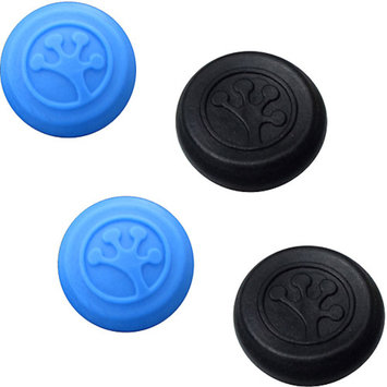 Digital Interactive Grip-iT Analog Stick Covers for Xbox 360, Xbox One, PS3 and PS4, 4 Pack