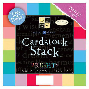 Die Cuts With A View DCWV 29-Color Cardstock Stack - 12
