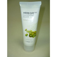 The Face Shop Herb Day Cleansing Cleansing Foam (Mung Beans) 170ml /Made in Korea