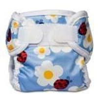 Bummis Super Whisper Wrap Diaper Cover, Ladybug, Large (Discontinued by Manufacturer)