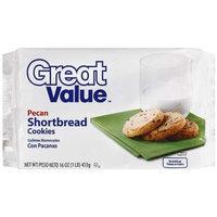 Great Value Pecan Shortbread Cookies, 16 Oz