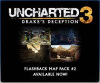 UNCHARTED 3: Drake's Deception Flashback Map Pack #2 DLC (Playstation 3)