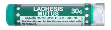 Ollois Homeopathic Medicine - Lachesis Mutus 30 C - 80 Pellets