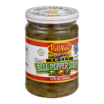 Bell-View Fancy Sweet Pepper Strips