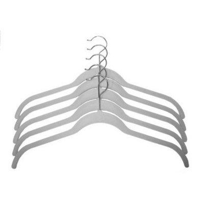 Joy Mangano 5-pc. Huggable Hangers Shirt Hangers - White
