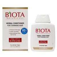 B'IOTA Botanicals Herbal Conditioner for Thinning Hair, 10.1 fl oz