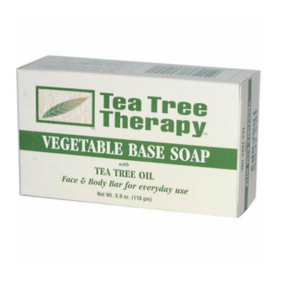 Tea Tree Therapy Vegetable Base Soap with Tea Tree Oil 3.9 oz