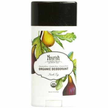 Nourish Organic Deodorant Fresh Fig 2.2 oz