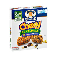 Quaker® Chewy 90 Calories, Low Fat Oatmeal Raisin