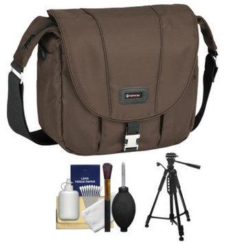 Tamrac 5423 Aria 3 Messenger Photo Digital SLR Camera Case / Bag (Brown) with Tripod + Accessory Kit