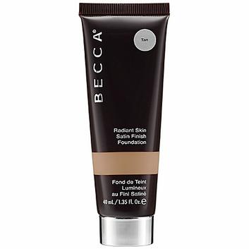 BECCA Radiant Skin Satin Finish Foundation  Tan 1.35 oz