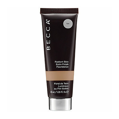BECCA Radiant Skin Satin Finish Foundation  Tan 1.35 oz